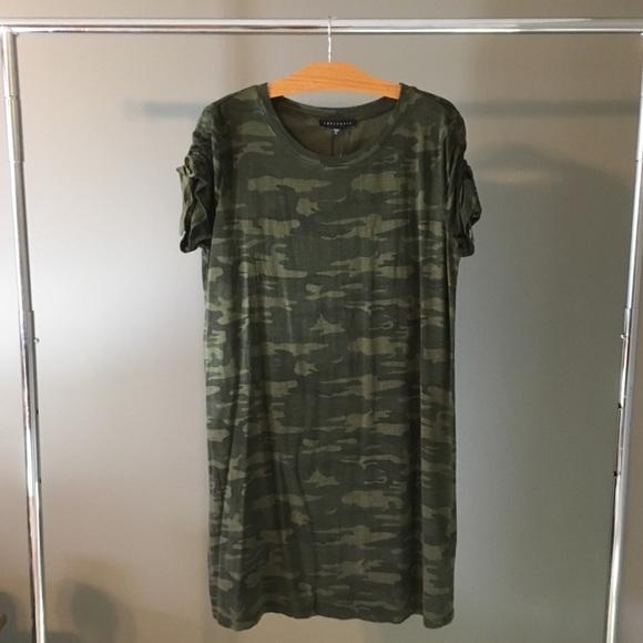 753f699e049 Sanctuary Camo Ojai T-Shirt Dress